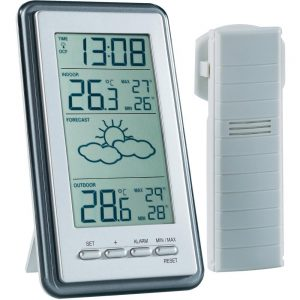 Indoor outdoor weather monitor